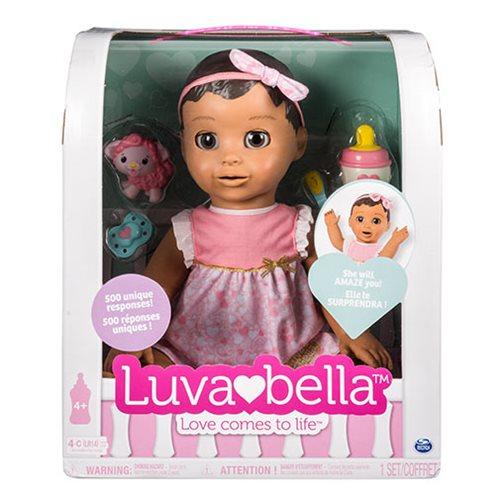 Luvabella Brunette Hair Girl Baby Doll