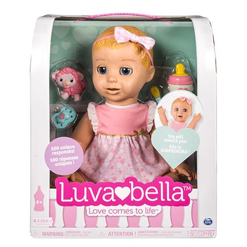 Luvabella Blonde Hair Girl Baby Doll