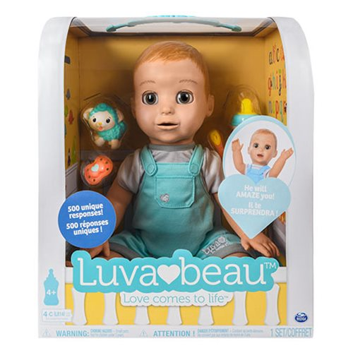 Luvabeau Boy Baby Doll