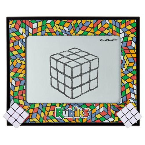 Etch A Sketch Classic Rubik's Cube Edition Drawing Pad