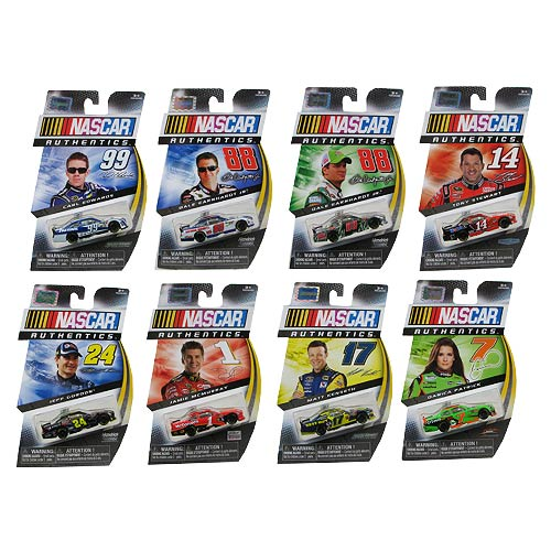 NASCAR Authentics 1:64 Scale Collector Car Vehicle Case