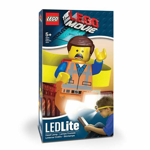 The LEGO Movie Emmet Head Lamp Flashlight
