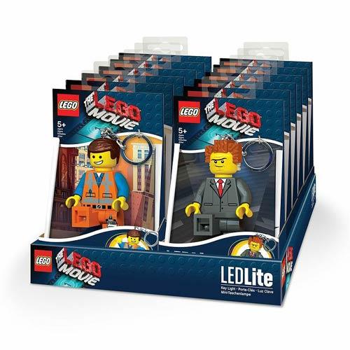 The LEGO Movie Minifigure Flashlight Set