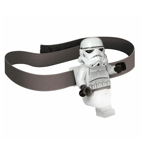 LEGO Star Wars Stormtrooper Head Lamp Flashlight