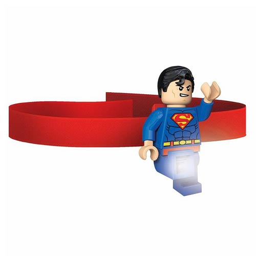 LEGO Superman DC Super Heroes Head Lamp Flashlight