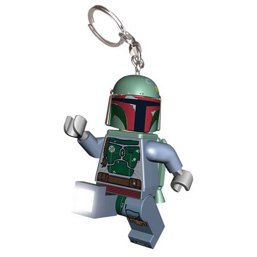 LEGO Star Wars Boba Fett Minifigure Flashlight