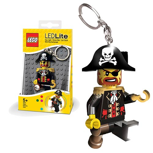 LEGO Captain Brickbeard Minifigure Flashlight