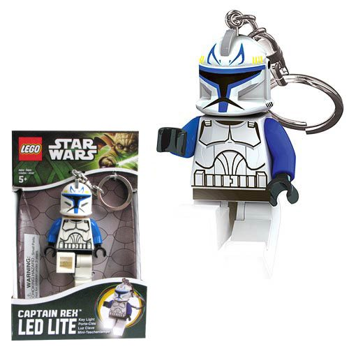 LEGO Star Wars Captain Rex Minifigure Flashlight