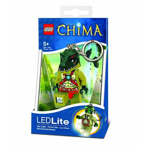 LEGO Legends of Chima Cragger Minifigure Flashlight
