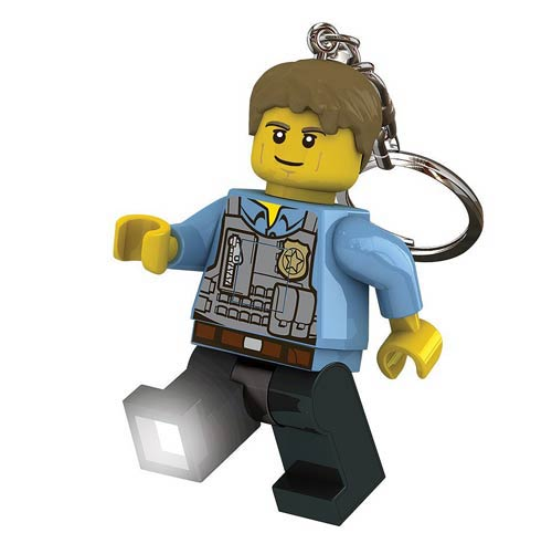 LEGO City Undercover Chase McCain Minifigure Flashlight