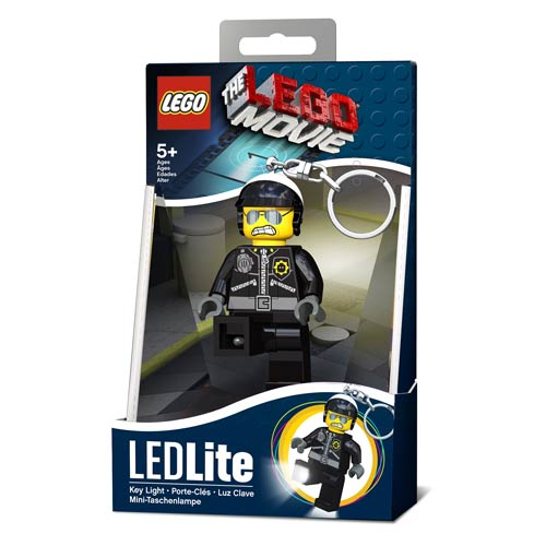 The LEGO Movie Bad Cop Minifigure Flashlight