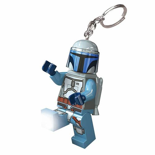 LEGO Star Wars Jango Fett Minifigure Flashlight