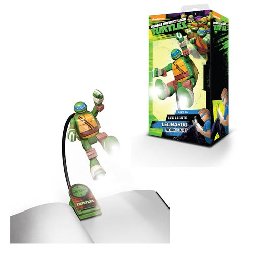 Nickelodeon TMNT Leonardo Book Light Flashlight