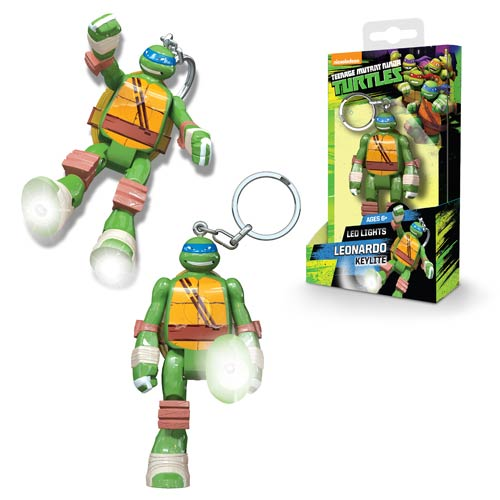 Nickelodeon TMNT Leonardo Mini-Figure Flashlight