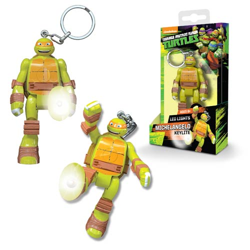 Nickelodeon TMNT Michelangelo Mini-Figure Flashlight