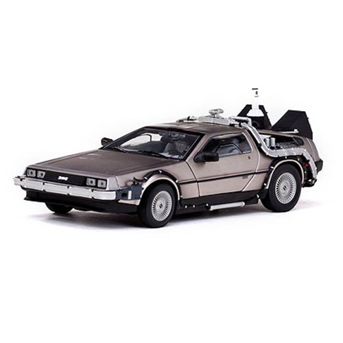Back to the Future Part II DeLorean 1:18 Die-Cast Vehicle