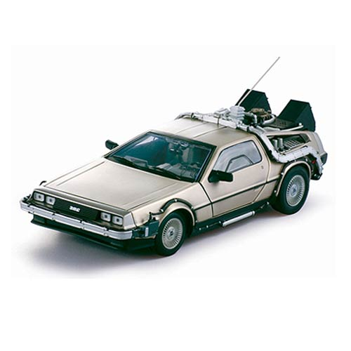 Back to the Future DeLorean 1:18 Die-Cast Metal Vehicle