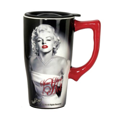 Marilyn Monroe Some Like It Hot Travel Mug with Handle