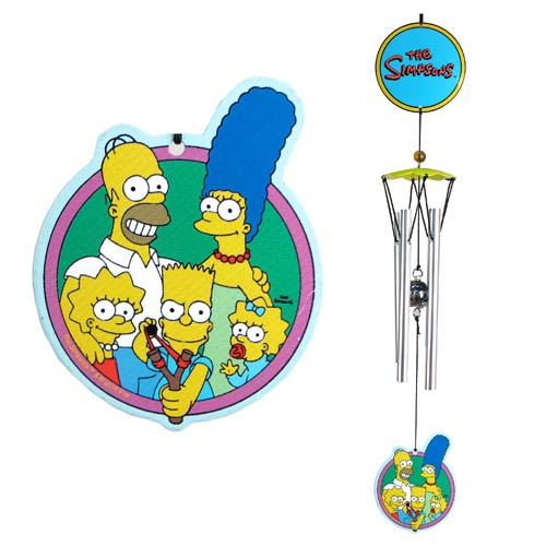 The Simpsons Family Metal Wind Chimes