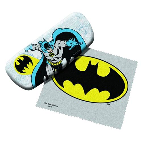 Batman Eyeglasses Case with Cleaning Cloth