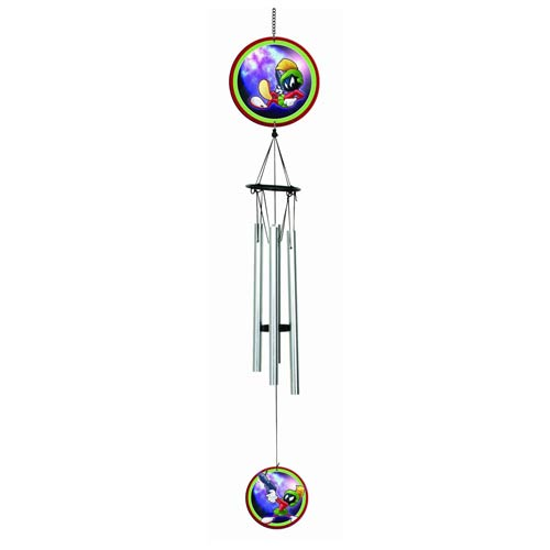 Looney Tunes Marvin the Martian Animated Metal Wind Chimes