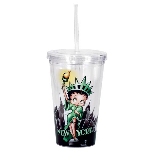 Betty Boop Liberty Travel Cup