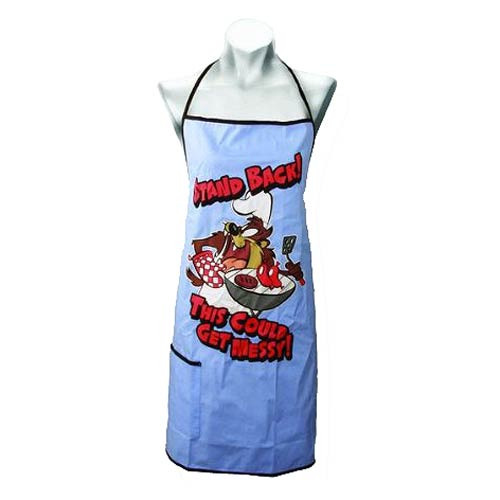 Looney Tunes Tasmanian Devil Cook's Apron with Pocket