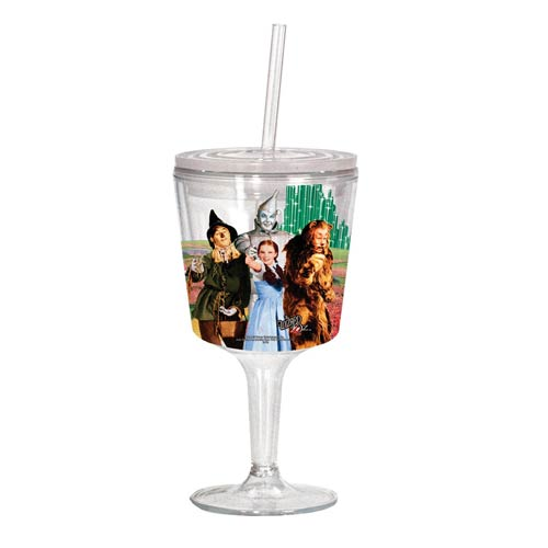 The Wizard of Oz Cast Photo Insulated Goblet with Lid