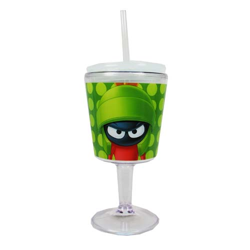 Looney Tunes Marvin the Martian Insulated Goblet with Lid