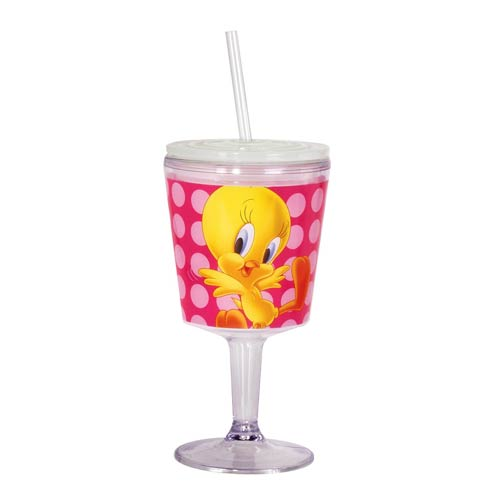 Looney Tunes Tweety Bird Insulated Goblet with Lid