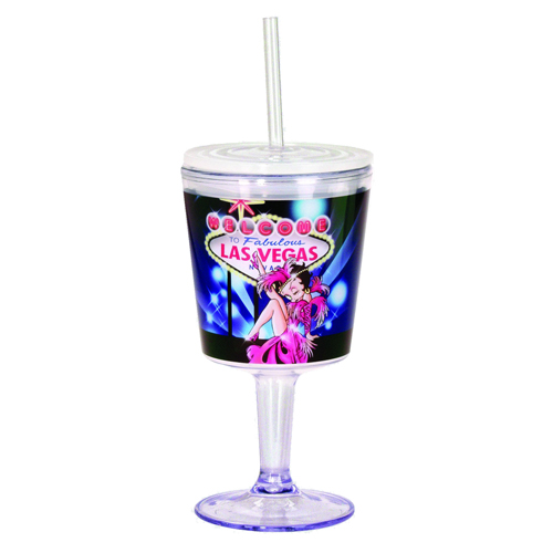 Betty Boop Showgirl Insulated Goblet with Lid