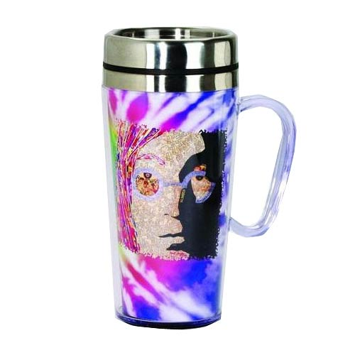 The Beatles John Lennon Insulated Travel Mug with Handle