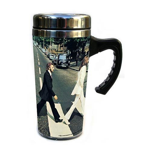 The Beatles Abbey Road Insulated Travel Mug with Handle