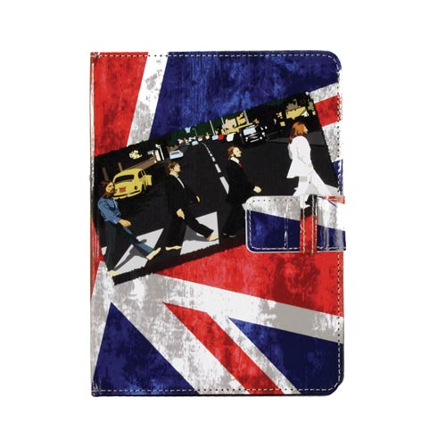 Beatles Abbey Road Union Jack Tablet Cover