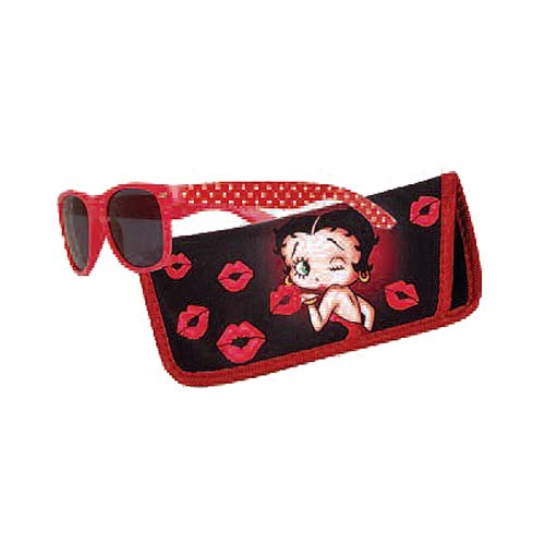 Betty Boop Sunglasses with Carry Case