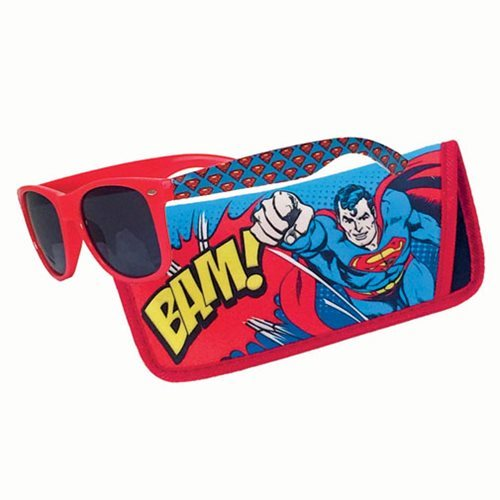 Superman Bam Sunglasses with Carry Case
