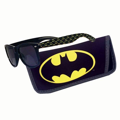 Batman Logo Sunglasses with Carry Case