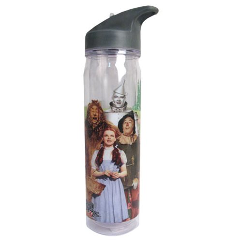The Wizard of Oz Cast Photo 18 oz. Flip-Top Water Bottle