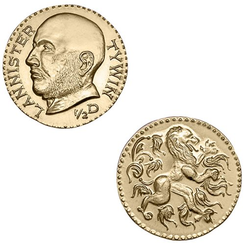 Game of Thrones 1/2 Dragon of Tywin Lannister Coin