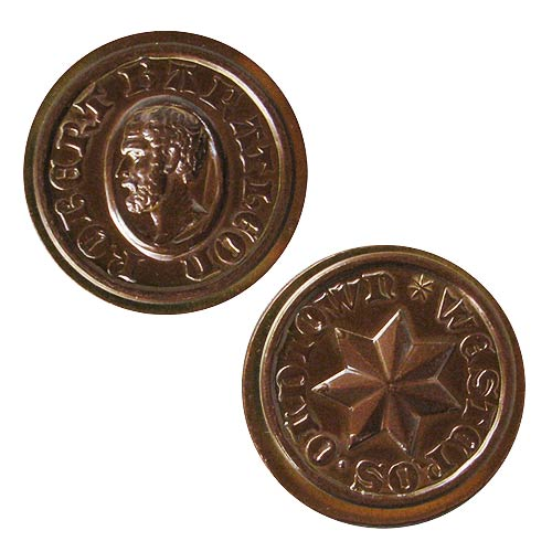 Game of Thrones Baratheon Copper Star Coin
