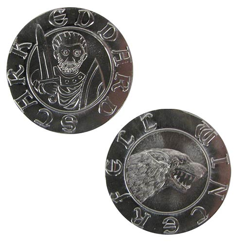 Game of Thrones Silver Stag of Eddard Stark Coin