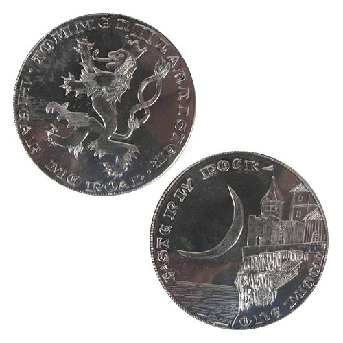 Game of Thrones Silver Moon of Tommen II Lannister Coin
