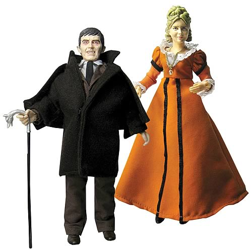 Dark Shadows Barnabas & Angelique Action Figure Series 1 Set