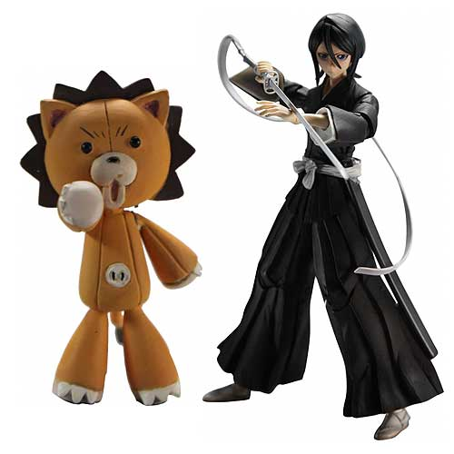 Bleach Rukia Kuchiki Shinigami Form Play Arts Kai Figure