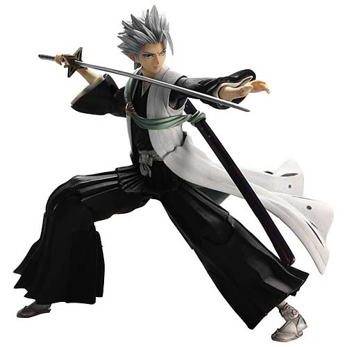 Bleach Captain Toshiro Hitsugaya Play Arts Kai Action Figure