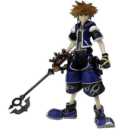 Kingdom Hearts 2 Sora Blue Special Edition Action Figure