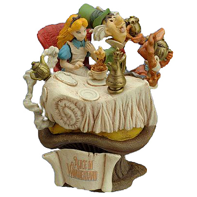 Alice in Wonderland Mad Hatter Tea Party Figure
