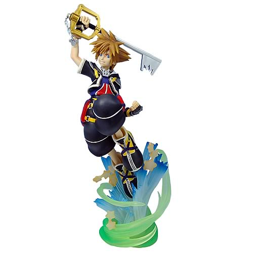 Kingdom Hearts 2 Sora Static Arts Figure