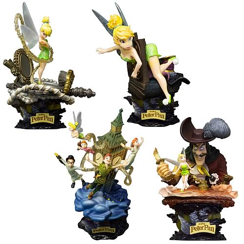 Peter Pan Formation Arts Mini-Figures