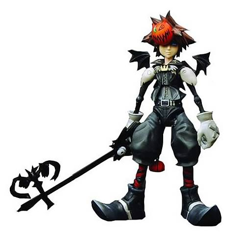 Kingdom Hearts 2 Halloween Town Sora Action Figure